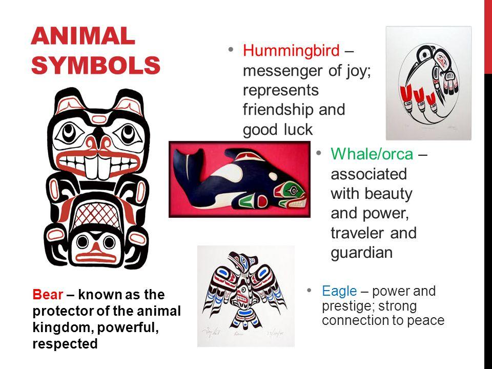 Animal Symbols Hummingbird – messenger of joy; represents friendship and good luck.