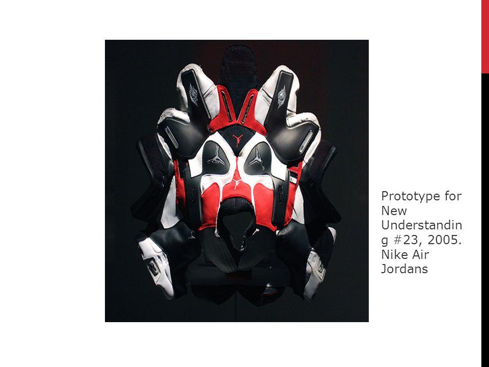 Prototype for New Understanding #23, 2005. Nike Air Jordans