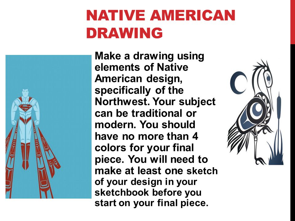 Native American Drawing
