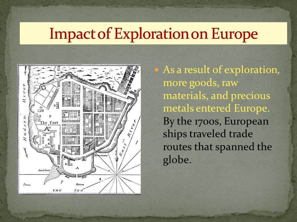 Impact of Exploration on Europe