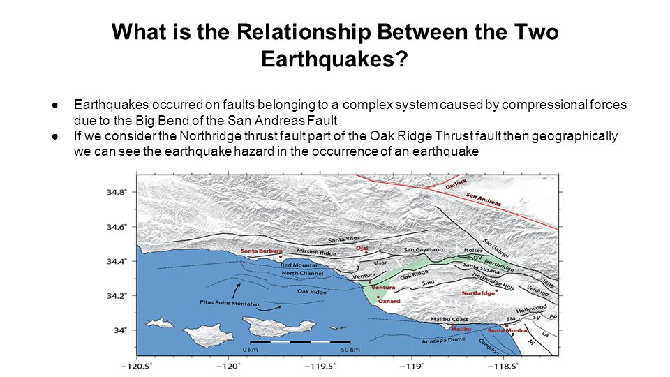 What is the Relationship Between the Two Earthquakes