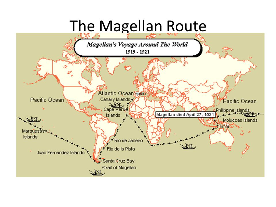 The Magellan Route