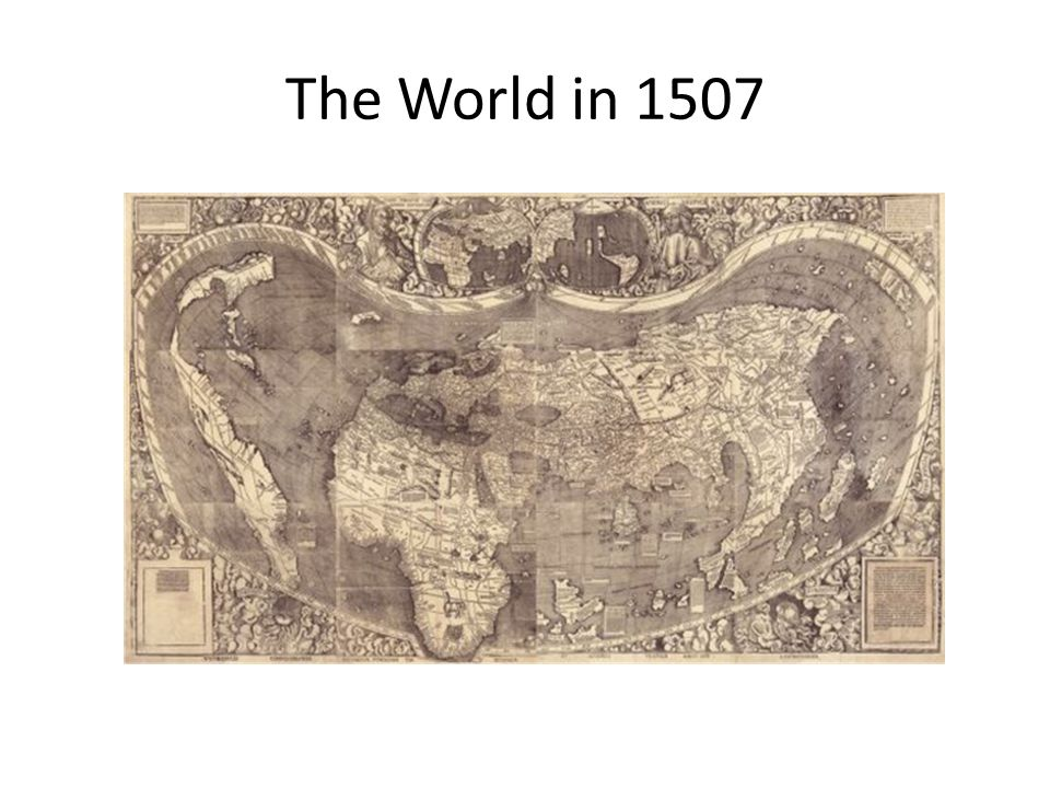 The World in 1507