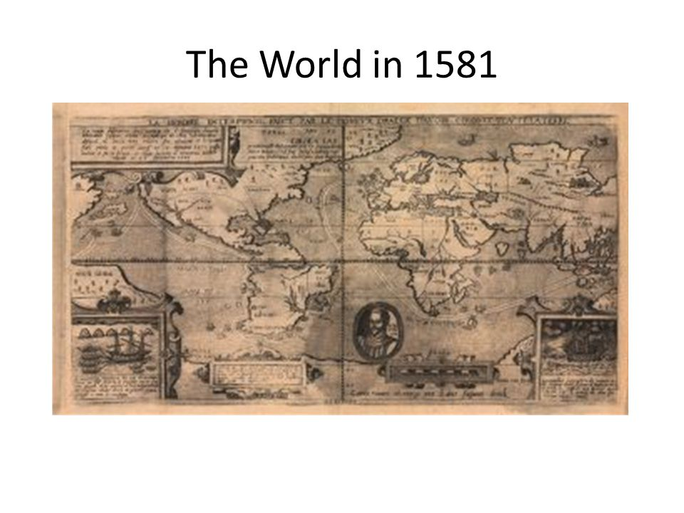 The World in 1581
