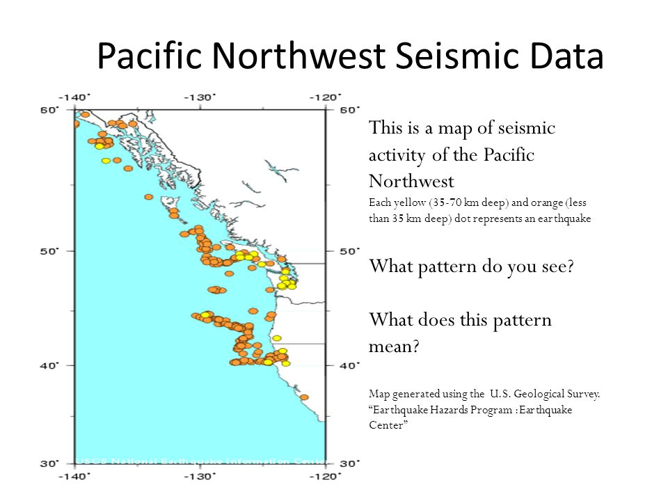 Pacific Northwest Seismic Data