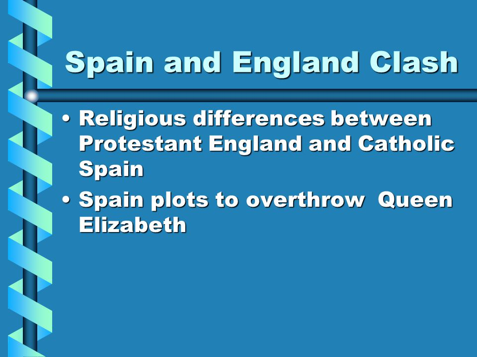 Spain and England Clash