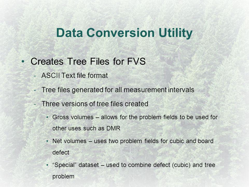 Data Conversion Utility