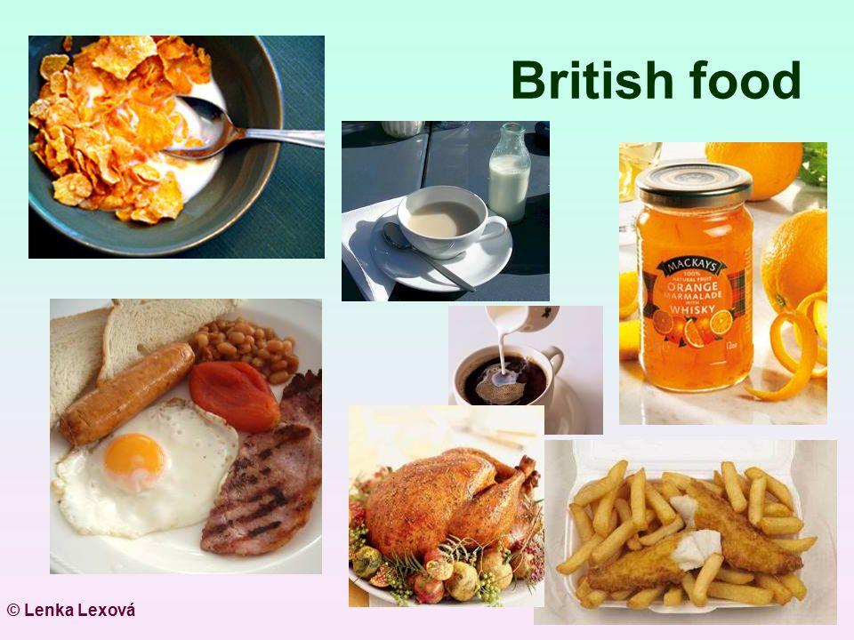British food © Lenka Lexová