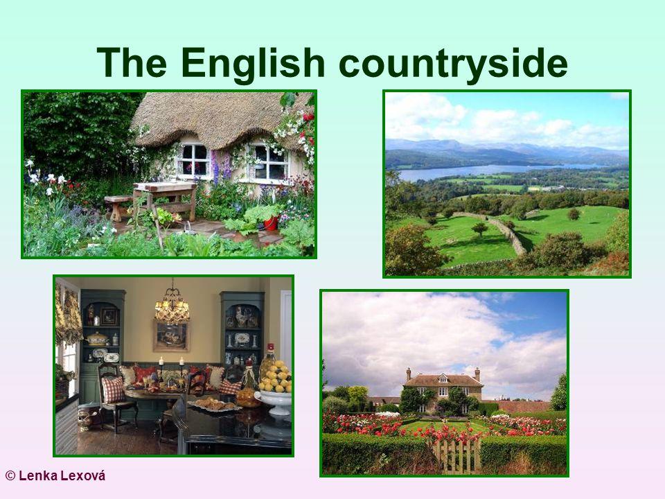 The English countryside