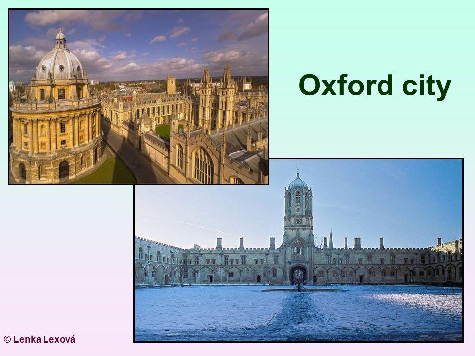 Oxford city © Lenka Lexová