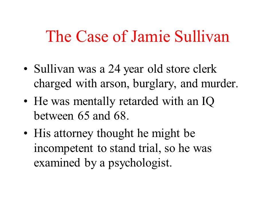 The Case of Jamie Sullivan