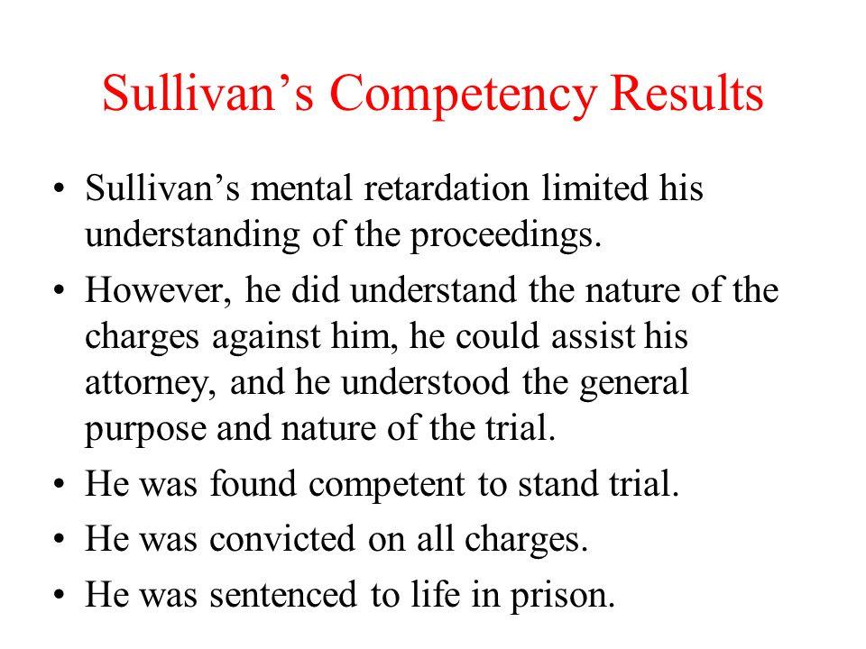 Sullivan's Competency Results