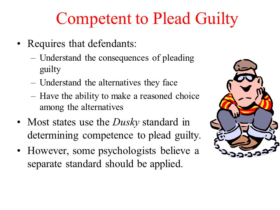 Competent to Plead Guilty