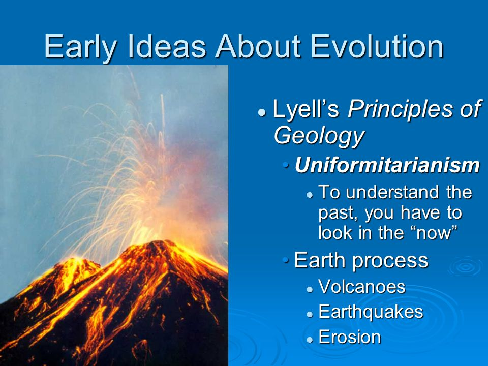 Early Ideas About Evolution
