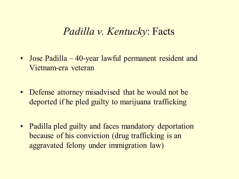 Padilla v. Kentucky: Facts
