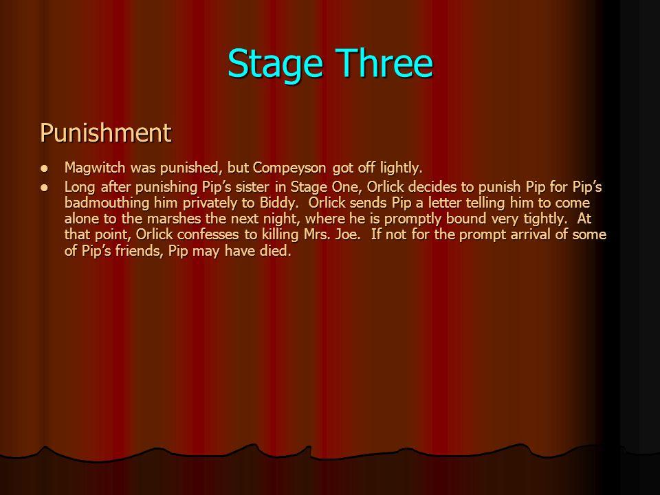 Stage Three Punishment
