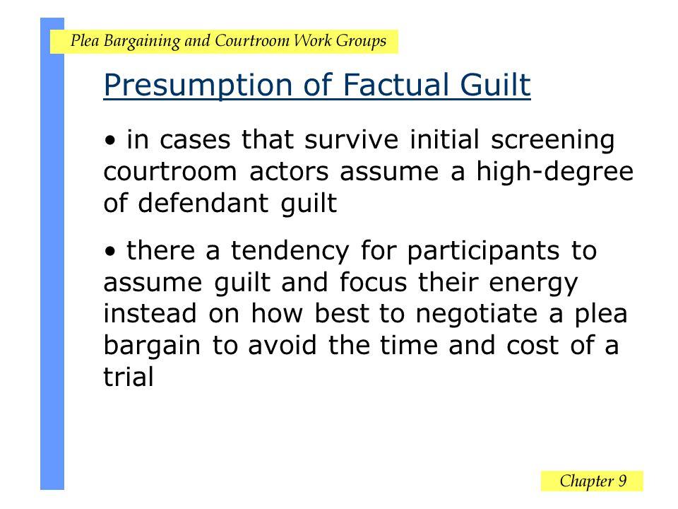Presumption of Factual Guilt