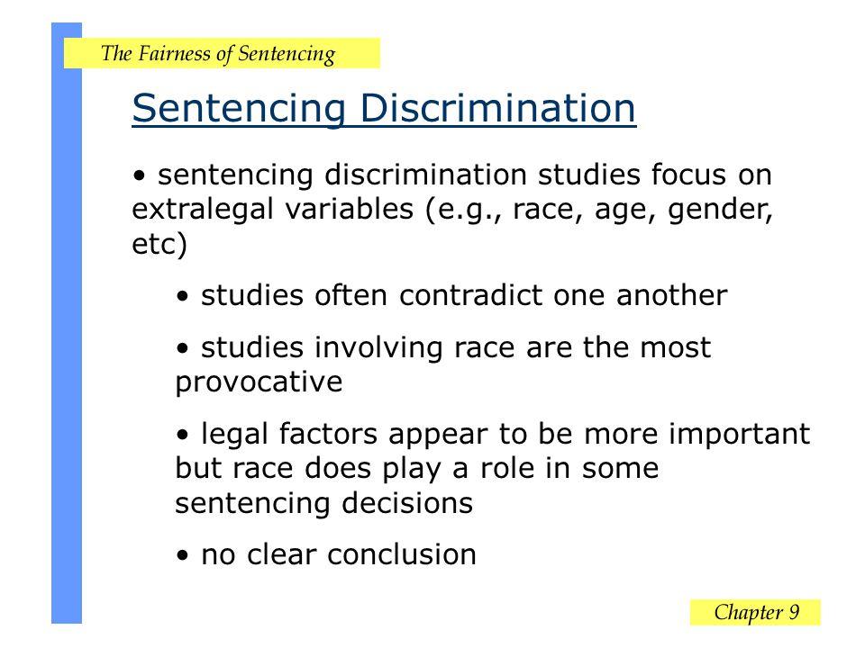 Sentencing Discrimination