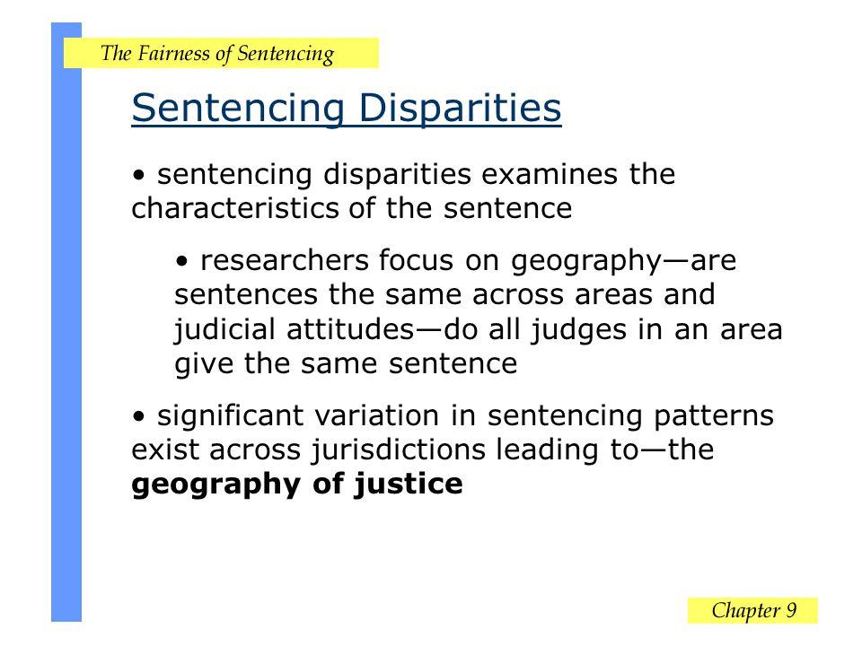 Sentencing Disparities