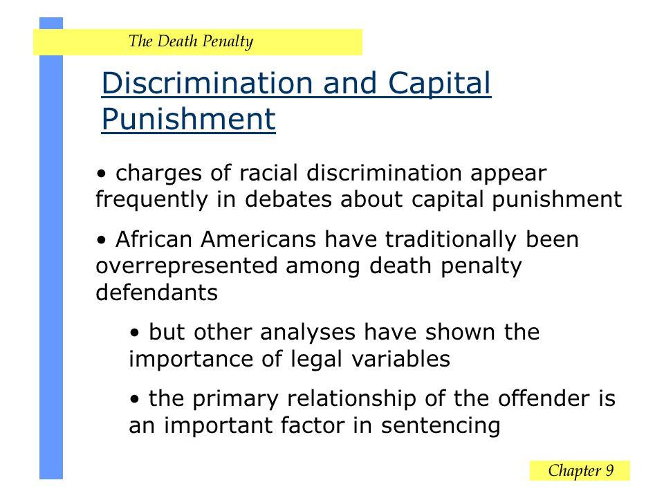 Discrimination and Capital Punishment
