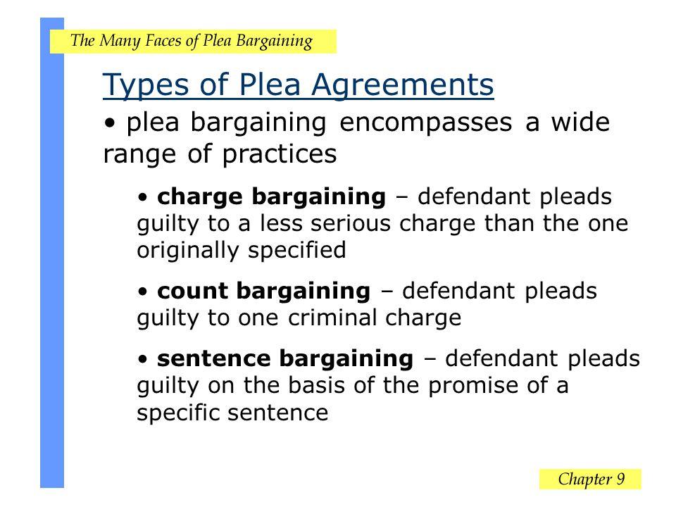 Types of Plea Agreements