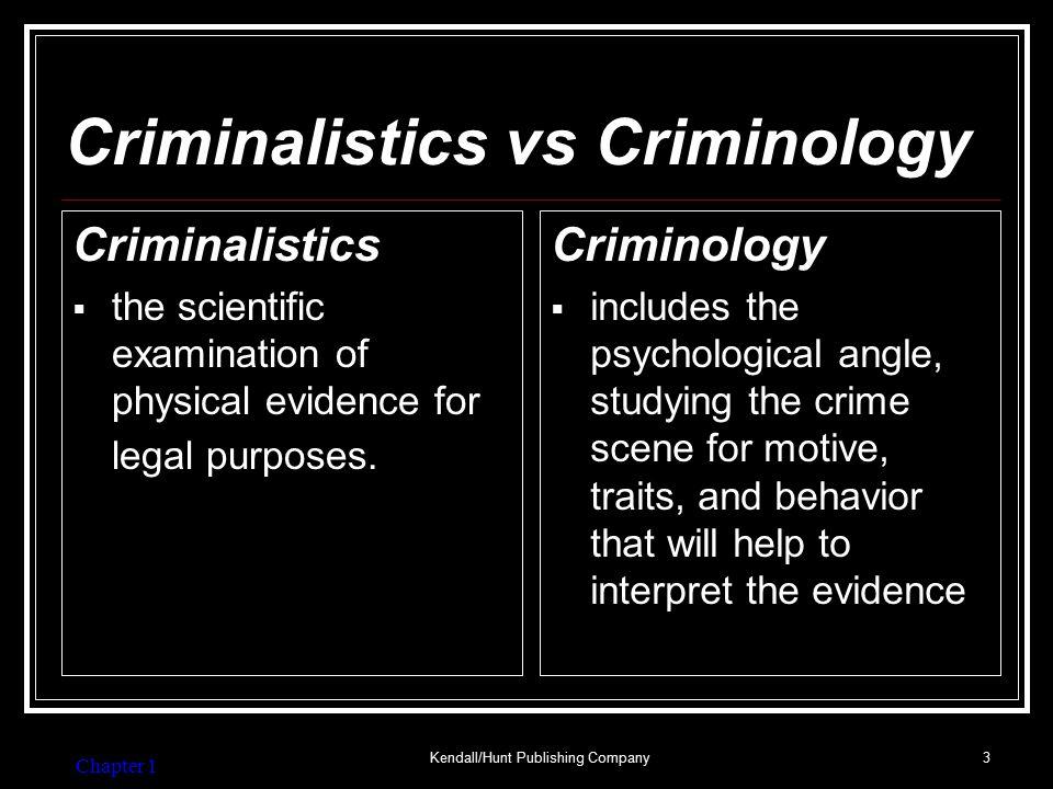 Crime Lab—Basic Services
