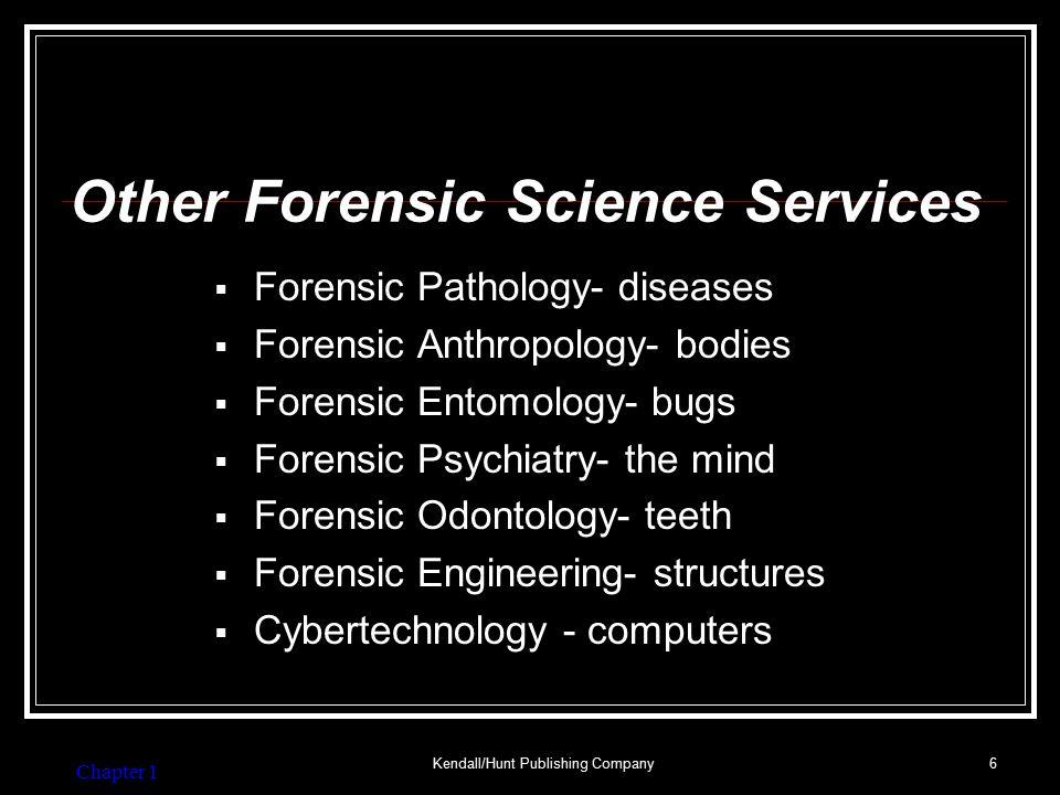 Major Crime Laboratories