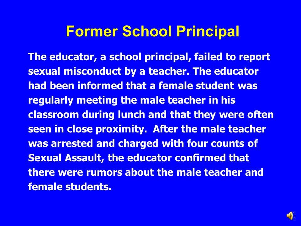 Former School Principal