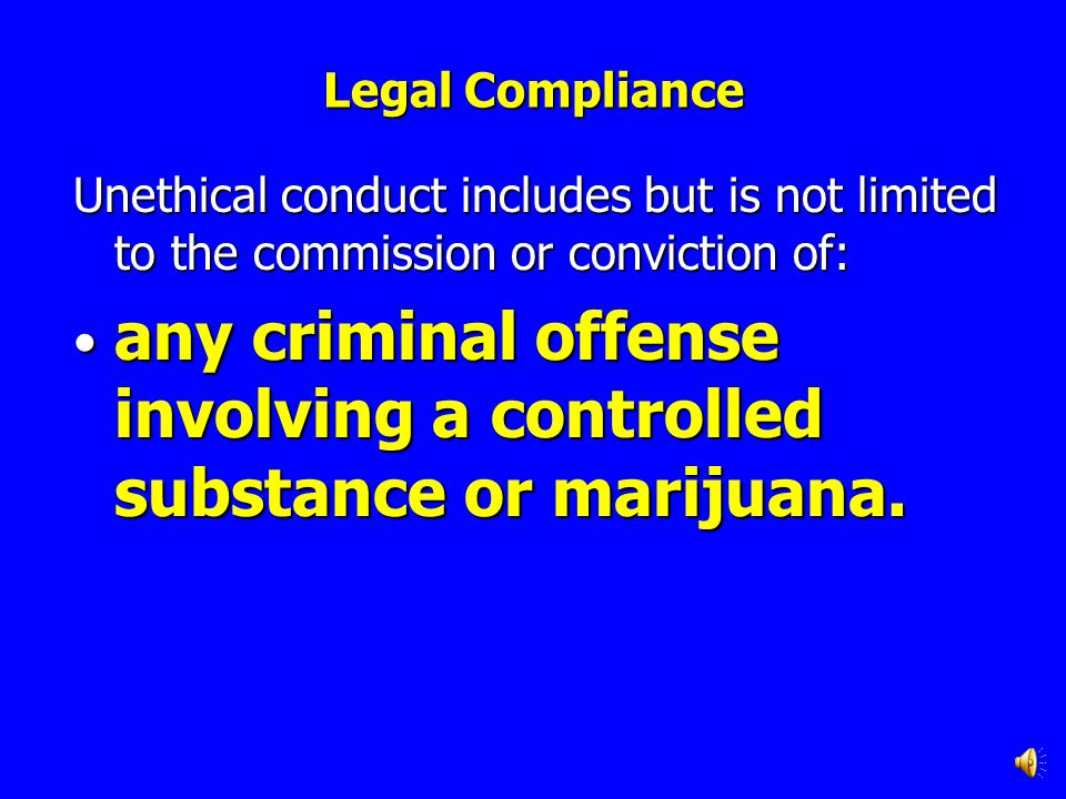 any criminal offense involving a controlled substance or marijuana.