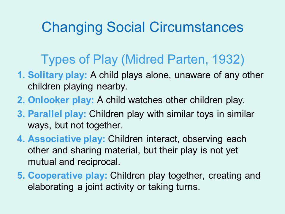 Changing Social Circumstances