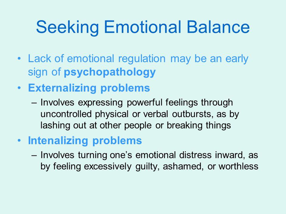Seeking Emotional Balance