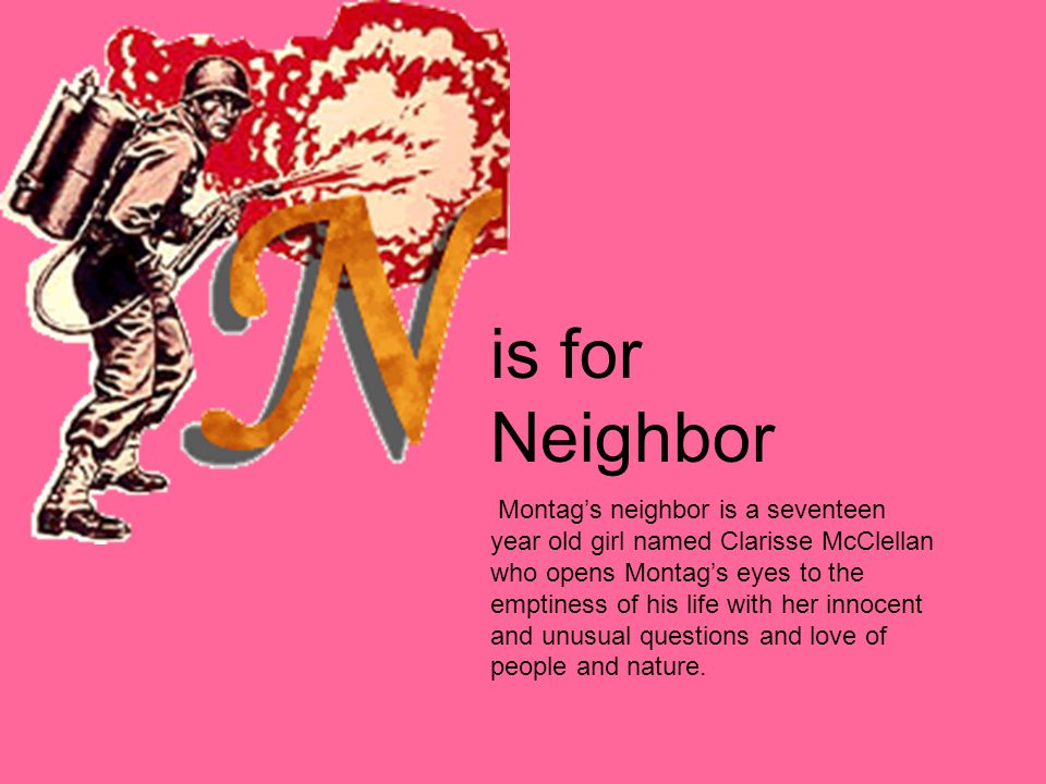 is for Neighbor