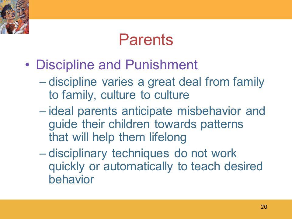 Parents Discipline and Punishment