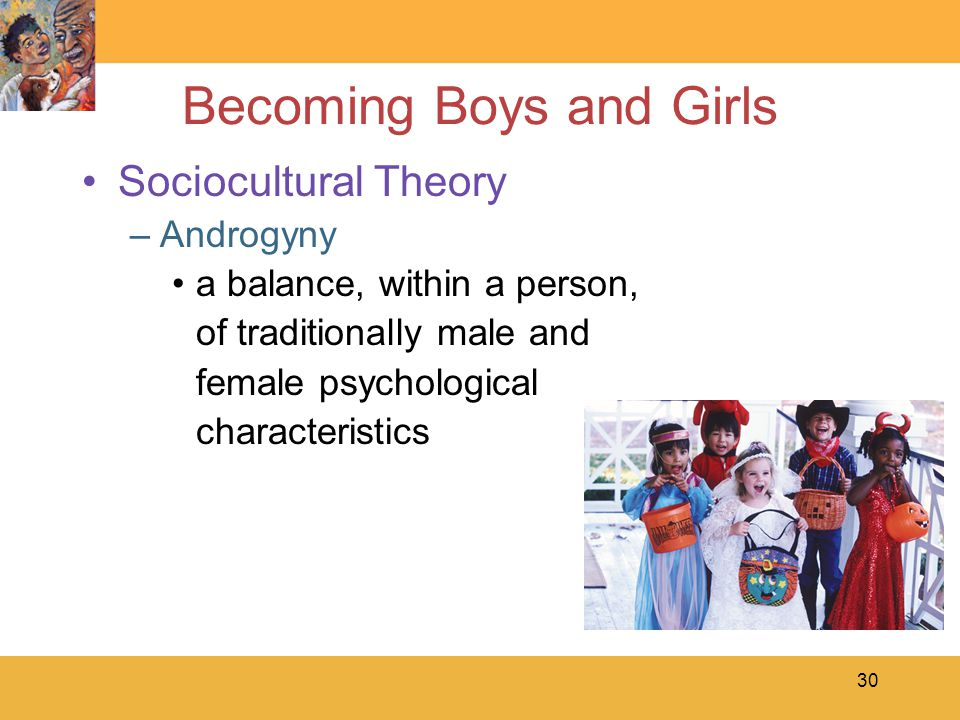 Becoming Boys and Girls