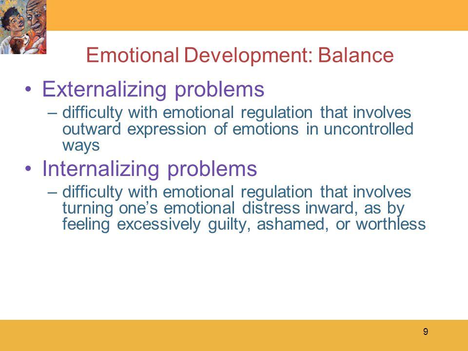 Emotional Development: Balance
