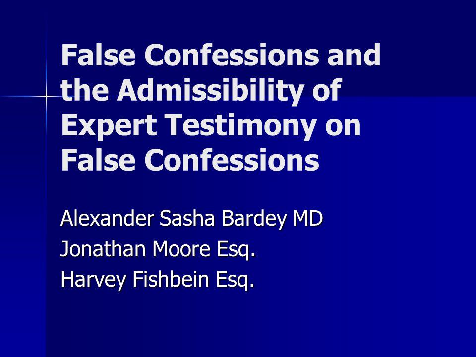 Alexander Sasha Bardey MD Jonathan Moore Esq. Harvey Fishbein Esq.