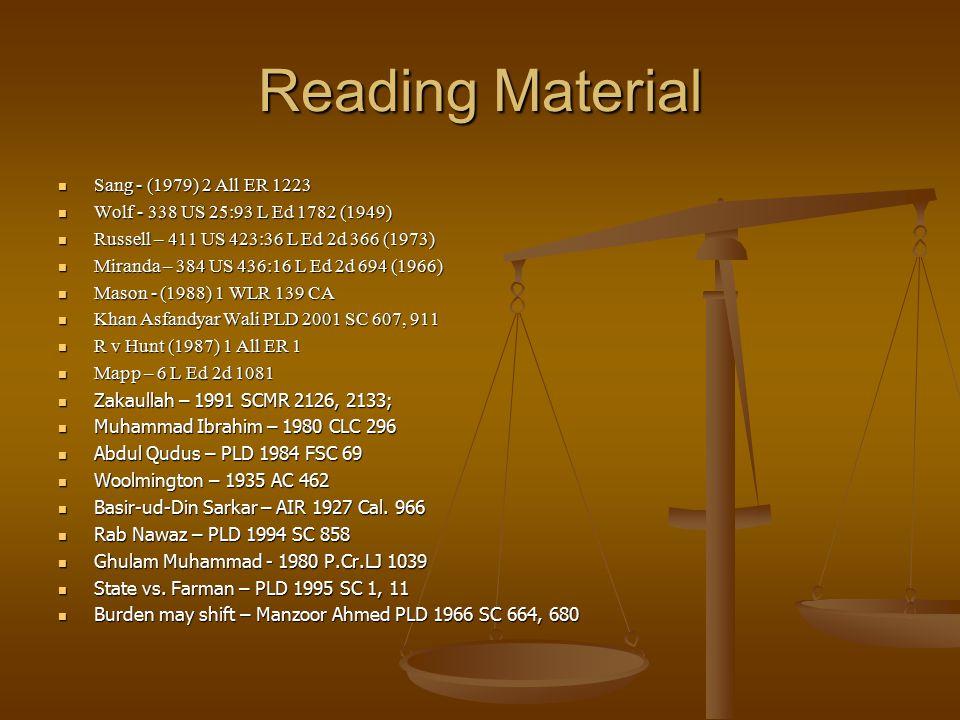 Reading Material Sang - (1979) 2 All ER 1223