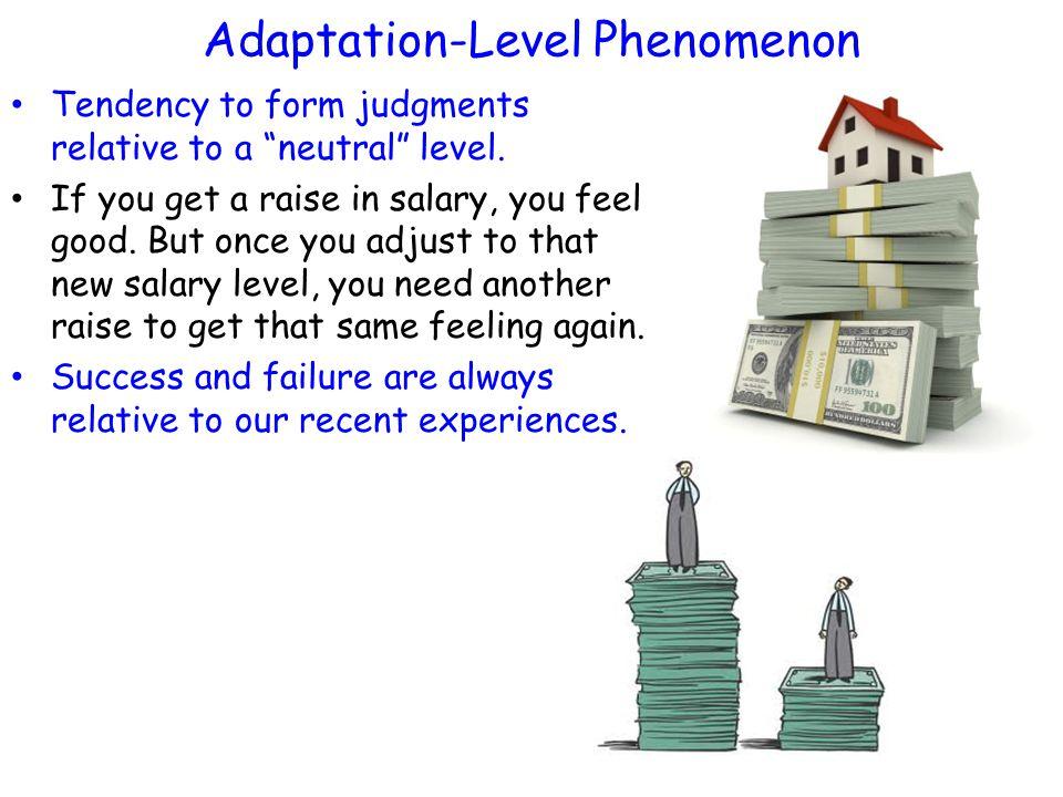 Adaptation-Level Phenomenon