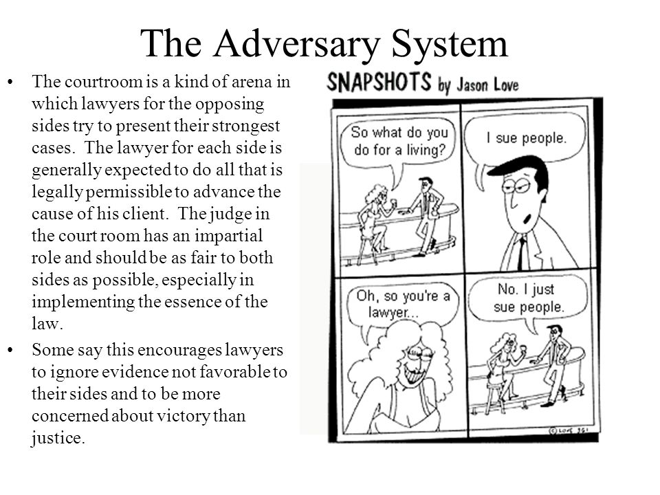 The Adversary System