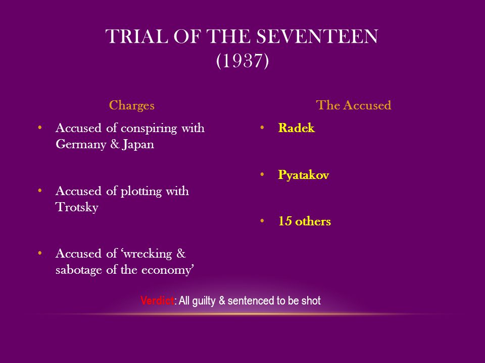 Trial of the Seventeen (1937)