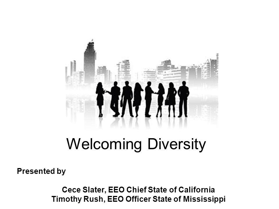 Welcoming Diversity Presented by