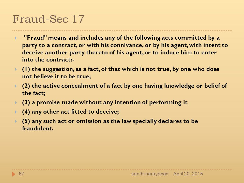 Fraud-Sec 17