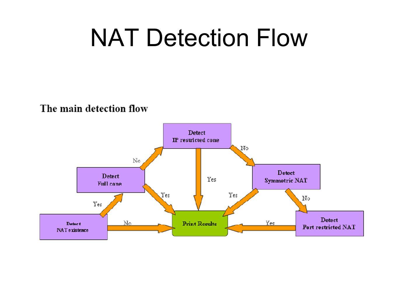NAT Detection Flow