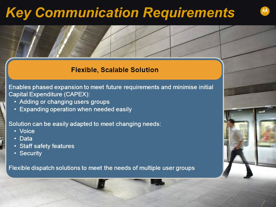 Key Communication Requirements