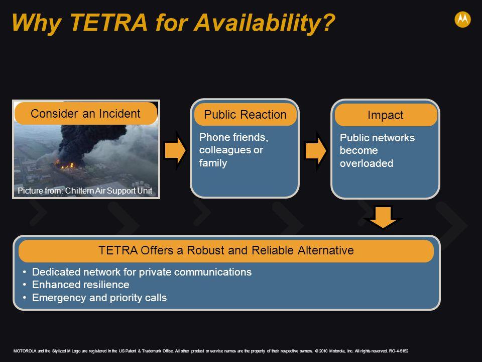 Why TETRA for Availability