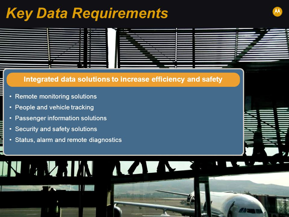 Integrated data solutions to increase efficiency and safety