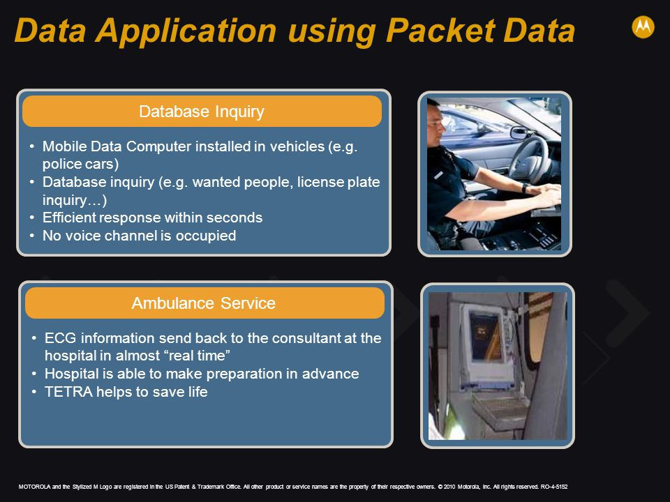 Data Application using Packet Data