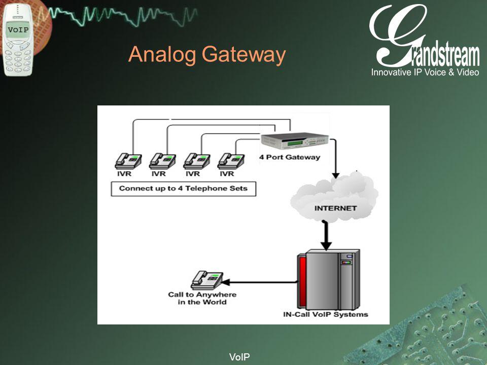 Analog Gateway VoIP