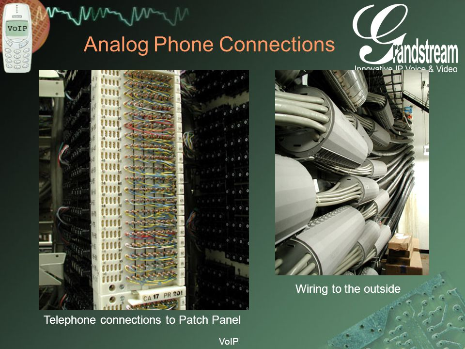 Analog Phone Connections