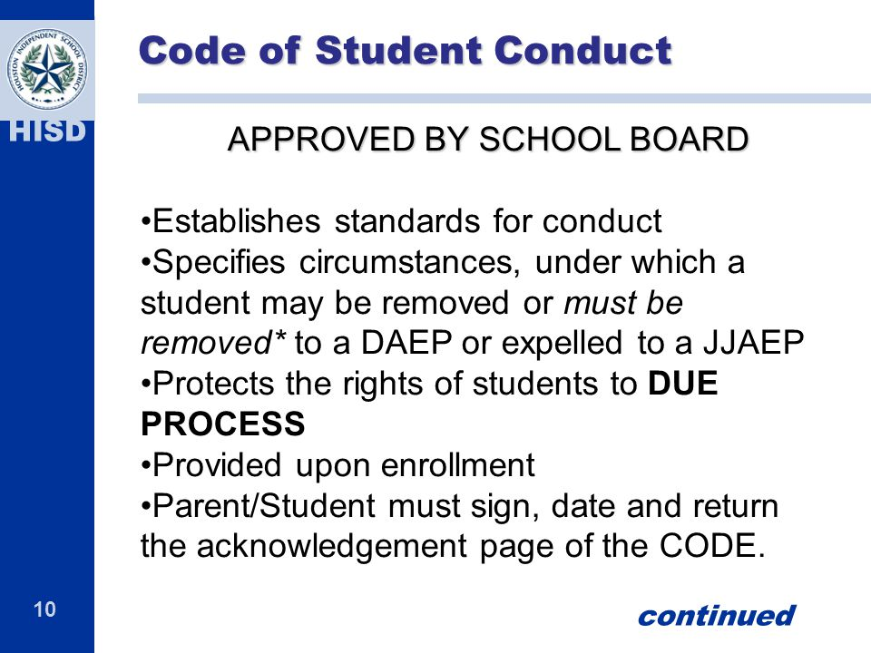 APPROVED BY SCHOOL BOARD